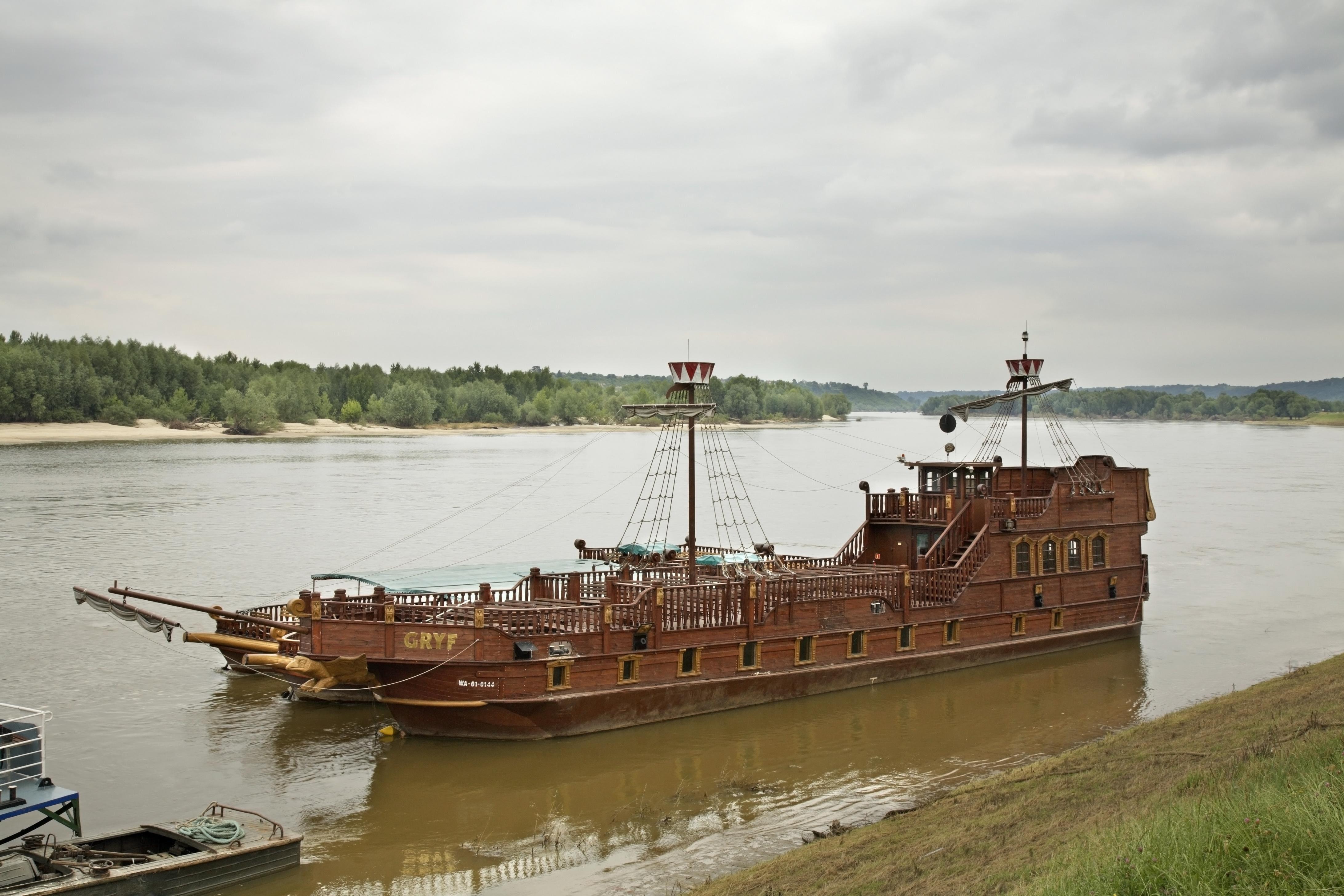 Rejs statkiem po Wiśle